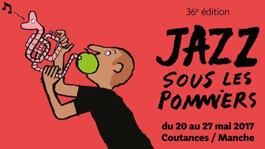 Affiche Jazz Sous les Pommiers 2017