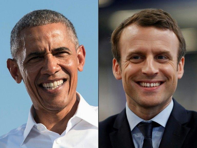 Barack Obama a pris l'initiative de soutenir publiquement Emmanuel Macron