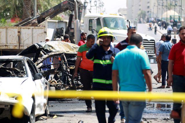Deux attaques à la voiture piégée mardi à Bagdad