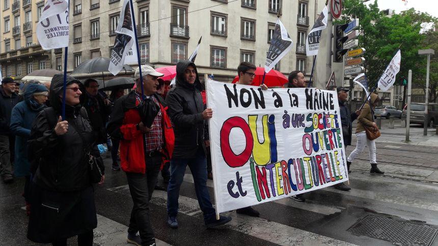 Manifestation du 1er mai 2017 à Strasbourg