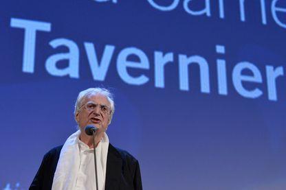Bertrand Tavernier au Festival de Venise en 2015.