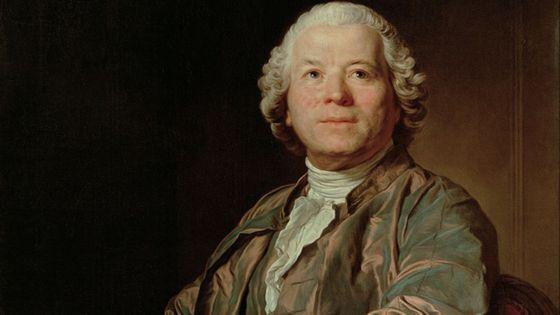 Portrait de Christoph Willibald Gluck  par Joseph Siffred Duplessis (1775)