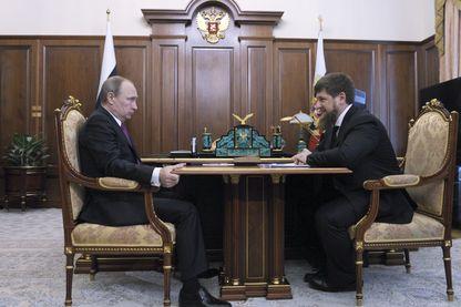 Rencontre Poutine Kadirov à Moscou il y a quelques mois