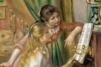 Jeunes filles au piano de Pierre-Auguste Renoir, tableau conservé au Musée d'Orsay