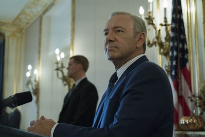 "Kevin Spacey dans ""House of Cards"""