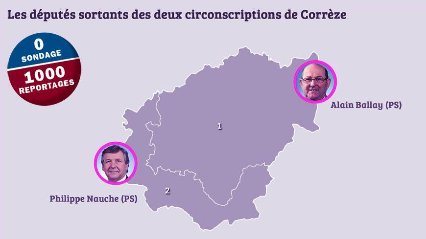 Qui succédera à Alain Ballay et Philippe Nauche sur les deux circonscriptions de la Corrèze ?