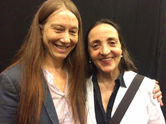 Valérie Dréville et Domnique Blanc