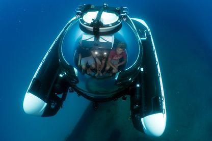C-Explorer 3 en plongée à Malte