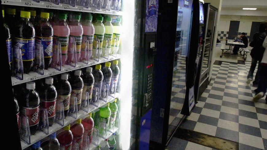 Des distributeurs de boissons (illustration)