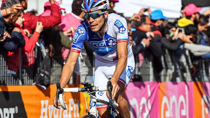 Thibaut Pinot n'est plus qu'à dix secondes du podium du 100ème tour d'Italie.