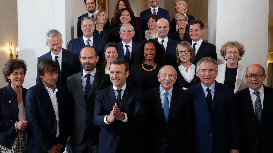 Le nouveau gouvernement de Philippe est constitué de 18 ministres et quatre secrétaires d'Etat.