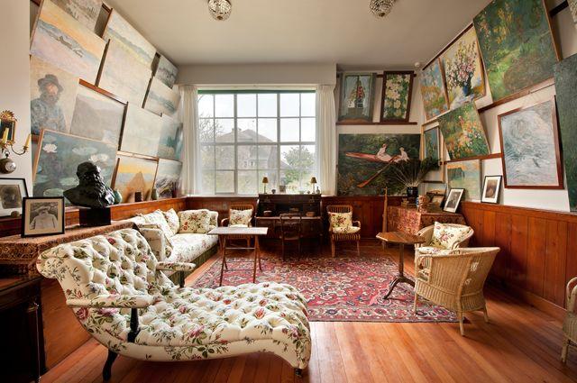 L'atelier-salon de Claude Monet de sa maison à Giverny