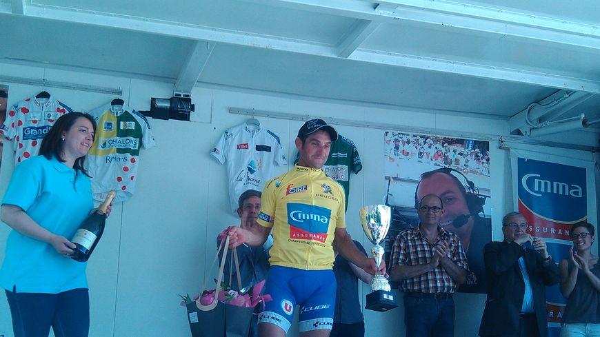 Willy Perrocheau, vainqueur des Boucles de la Marne 2017.