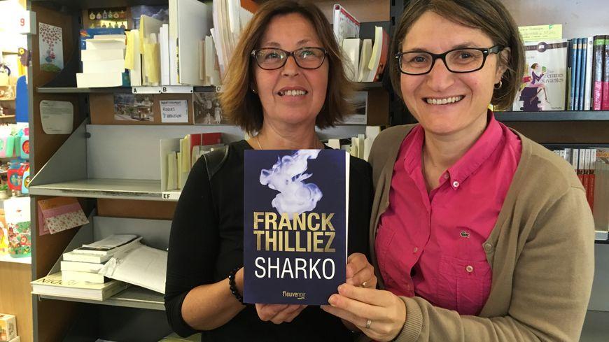 Les deux libraires montoises, Pépita et Sandrine lancent leur premier salon du livre dédié au polar avec Franck Thilliez en invité