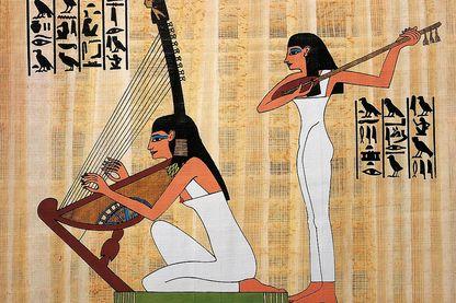 Reconstitution de la fresque de la tombe de Rekhmara, XVIIIe dynastie