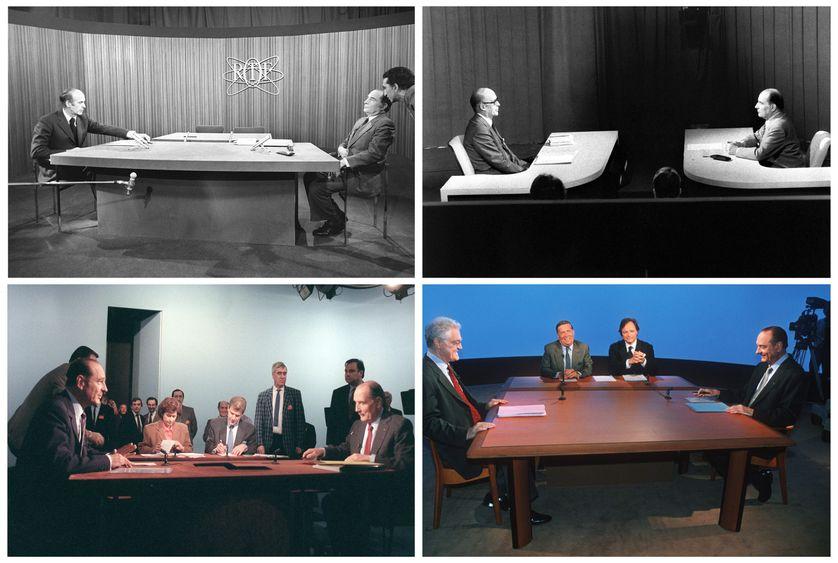 Débats télévisés, de 1974 à 1995