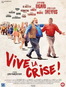 Affiche de Vive la crise! de Jean-François Davy