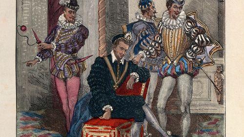 François Rostain (4/5) : Les Mignons d'Henri III