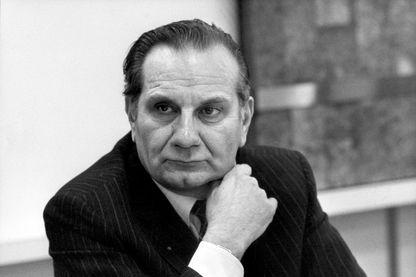Portrait de Georges Besse, prise le 9 janvier 1981 au Petit-Clamart.