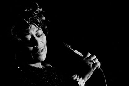Ella Fitzgerald sur scène en 1970