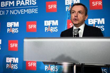 Alain Weil lors du lancement de BFM Paris - le 7 novembre 2016
