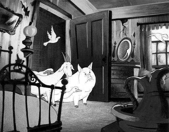 Extrait du film en 1955