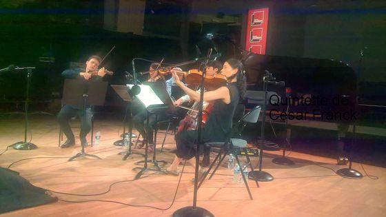 Quatuor Hermès Philippe Cassard