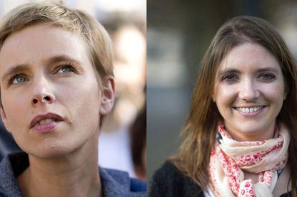 Clémentine Autain, Députée FI de Seine-Saint-Denis et Aurore Bergé, Députée LREM des Yvelines