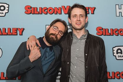 Martin Starr and Zach Woods