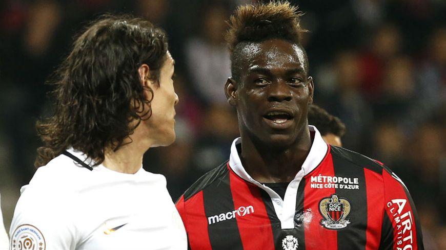 Mario Balotelli recroisera le PSG d'Edinson Cavani avec l'OGC Nice.