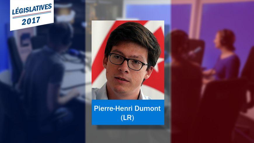Pierre-Henri Dumont, nouveau député LR de la 7e circonscription du Pas-de-Calais