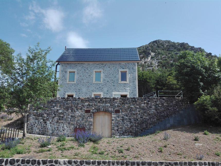 La maison de site, ancien bâtiment du Touring Club de France