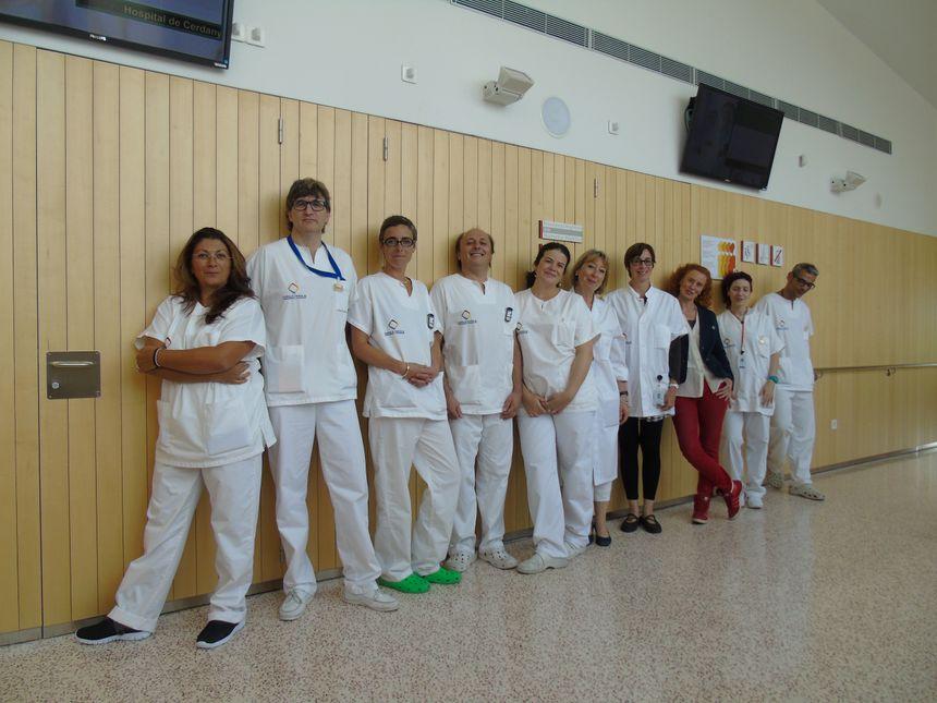 L'équipe radiologie