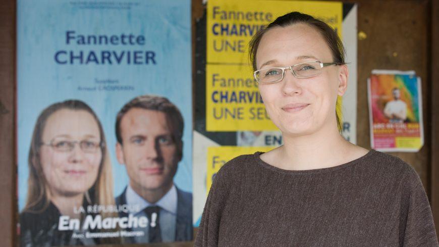 Fannette Charvier est arrivée en tête du premier tour dans la 1e circonscription du Doubs