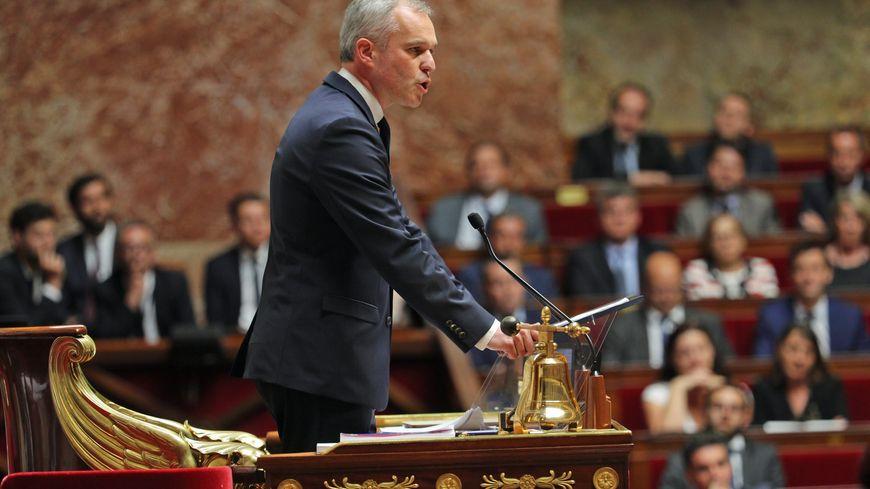 François de Rugy prononce son premier discours de président de l'Assemblée nationale