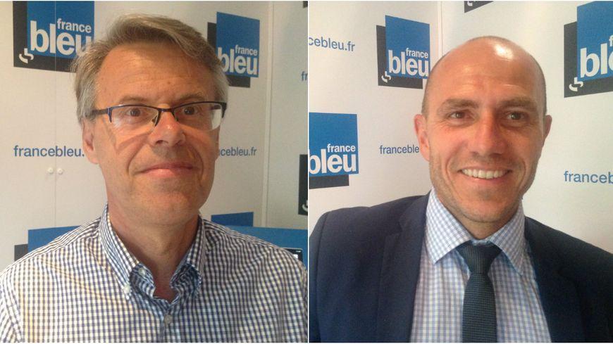 L'écologiste Eric Alauzet et Ludovic Fagaut (LR) s'affronteront au second tour des législatives sur la deuxième circonscription du Doubs.