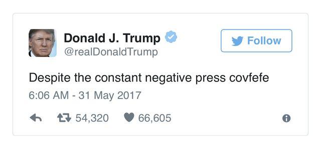 Le tweet de Donald Trump