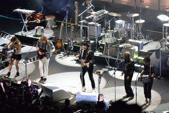 Arcade Fire sur la scène des Nuits de Fourvière en juin 2017