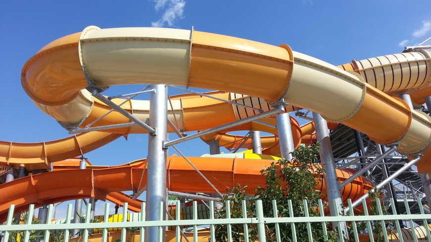 parc aquatique orange