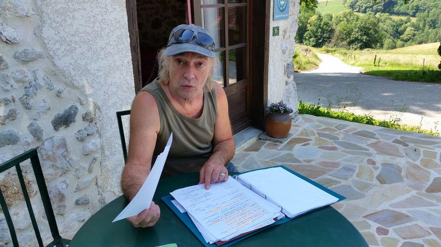Jean-Max Peteau, cinéaste et à l'origine du Projet Mandrin