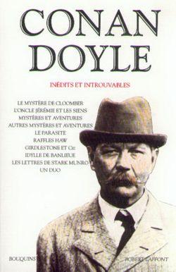 couverture de CONAN DOYLE - INÉDITS ET INTROUVABLES - Arthur Conan Doyle - éditions Bouquins Laffont