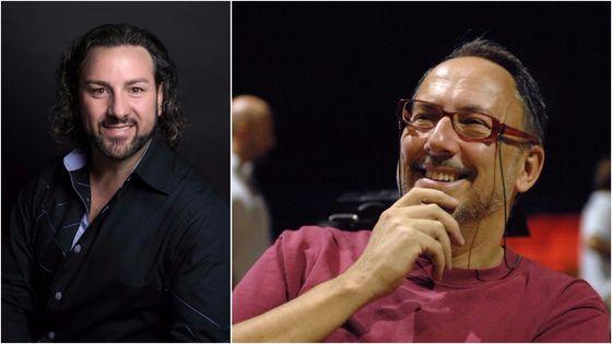 Au Capitole de Toulouse, John Osborn (à gauche) chante le rôle du Prophète, dans une mise en scène de Stefano Vizioli (à droite)...