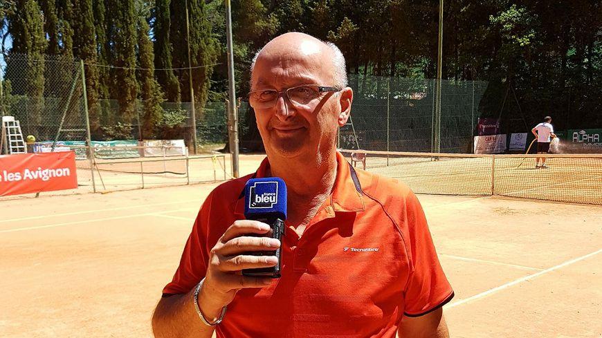 Patrick MUNINI au Tennis Club de Montolivet