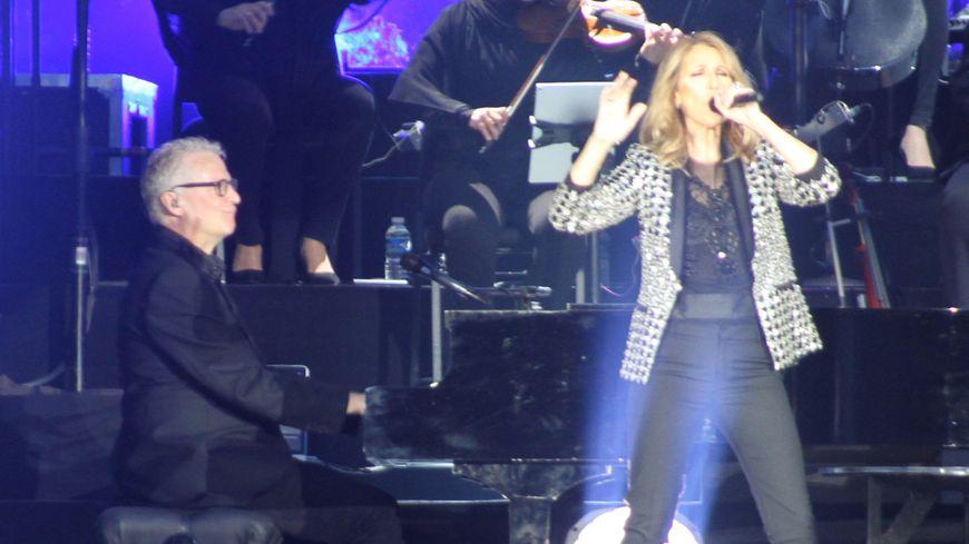 Céline Dion en concert à Bordeaux
