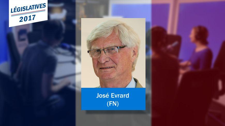 José Evrard, nouveau député Front national de la 3e circonscription du Pas-de-Calais