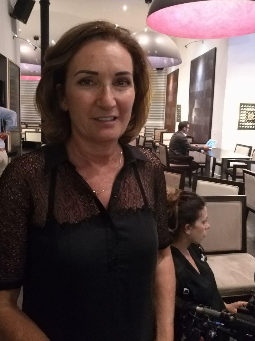 Corinne Versini, candidate de La République en Marche dans les Bouches-du-Rhône
