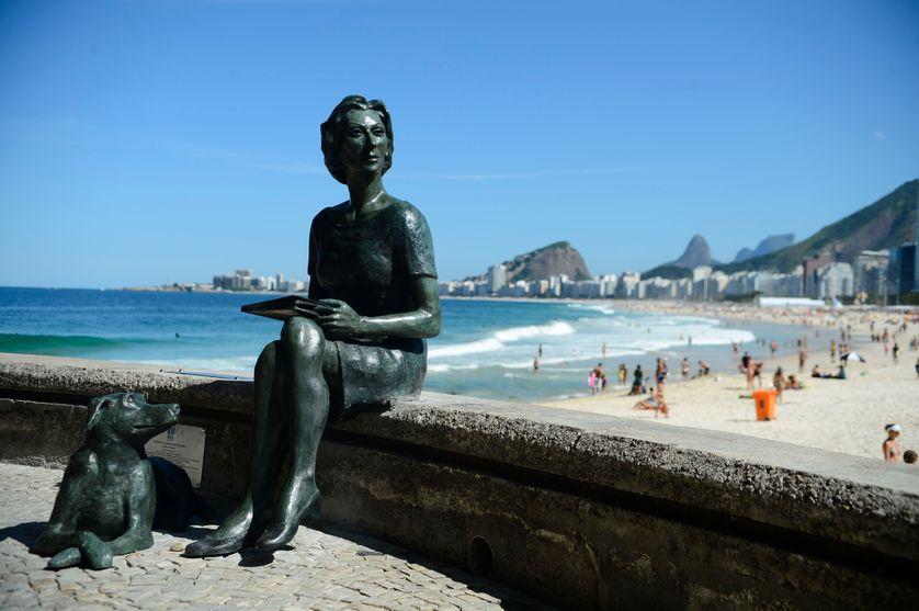 Rio de Janeiro - Statue de l'écrivain Clarice Lispector