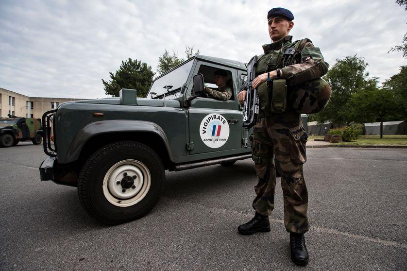 """Opération """"Sentinelle"""" le 15 Juillet 2016 à Vincennes"""