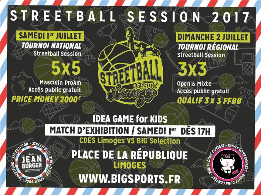 2 jours de basket avec des tournois ouverts à tous les 1er et 2 juillet place de la République à Limoges