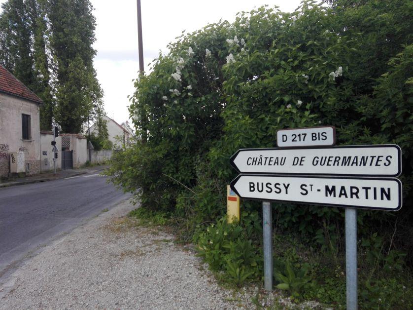 Route vers Guermantes